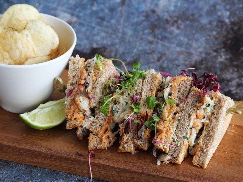 W. Harvey & Sons - Cornish Crab Sandwich recipe