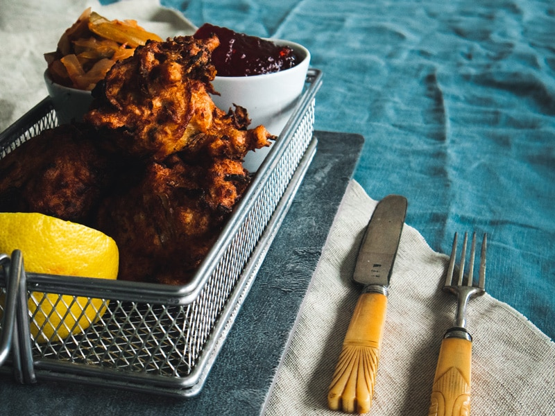 Cornish King Crab Fritters recipe from W. Harvey & Sons