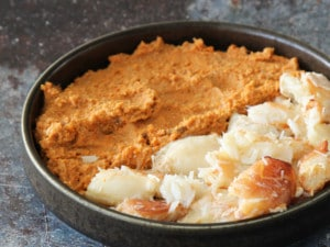 50/50 White & Brown Crab Meat 250g   Order Online   Next Day Delivery