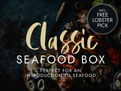 Handpicked Cornish Seafood Box | Order Online | Next Day Delivery